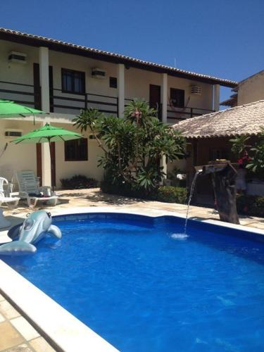The swimming pool at or close to Pousada Villa Joia