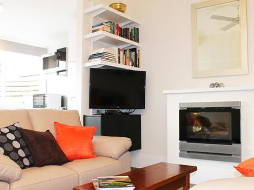 A television and/or entertainment center at Apartment on King - Free Car