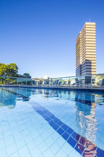 The swimming pool at or near Bourbon Belo Horizonte Hotel