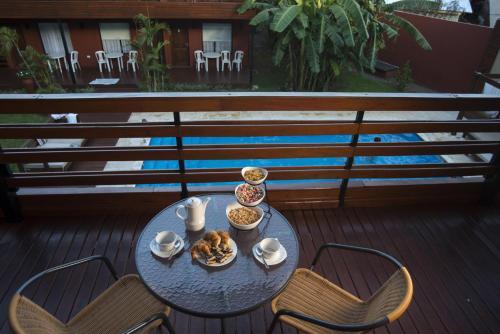 A balcony or terrace at Costa Iguazu