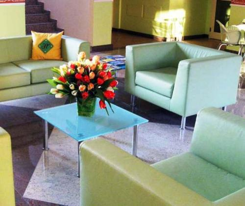 A seating area at Accademia Residence