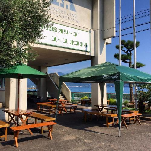 A restaurant or other place to eat at Shodoshima Olive Youth Hostel