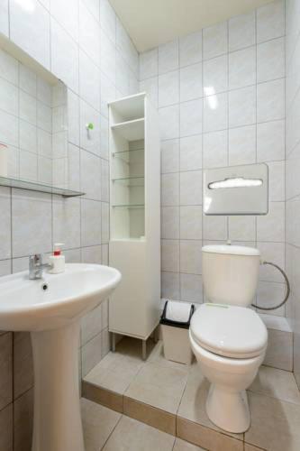 Ванная комната в Хостел Вояж