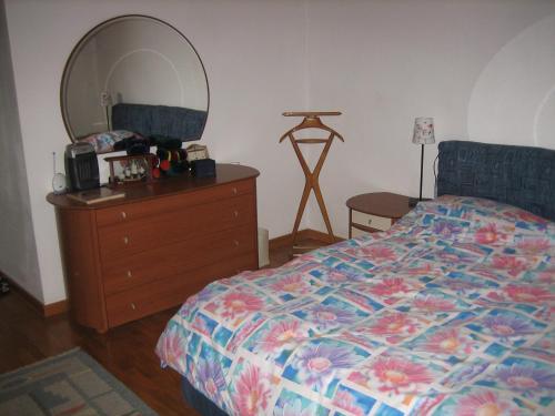 Postel nebo postele na pokoji v ubytování Villa Maria