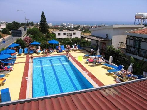 A view of the pool at Aphelandra Hotel Apartments or nearby