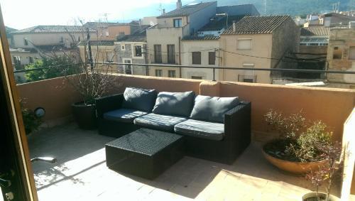 Un balcón o terraza de Cal Magret