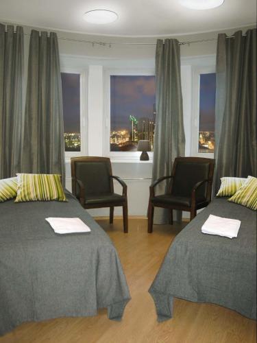 Voodi või voodid majutusasutuse Hostel Tallinn toas