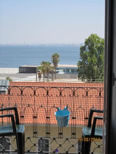 Uma varanda ou terraço em Guesthouse Beira Mar