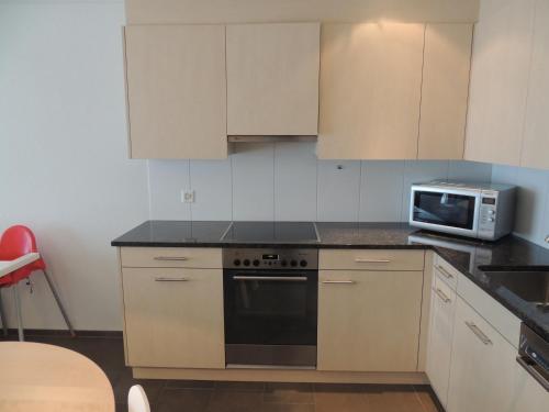 Küche/Küchenzeile in der Unterkunft Got Pintg 8