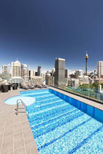 The swimming pool at or close to Pullman Sydney Hyde Park