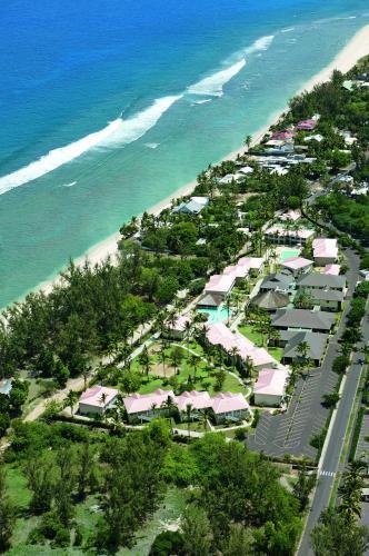 Vue panoramique sur l'établissement Hotel Le Recif, Ile de la Reunion