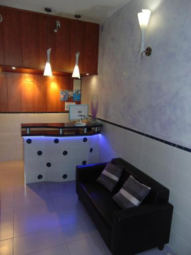 A seating area at Hotel Libertador