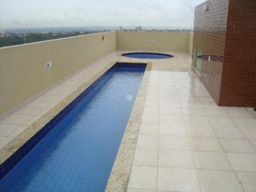 The swimming pool at or near Flat Residence bela Vista bueno