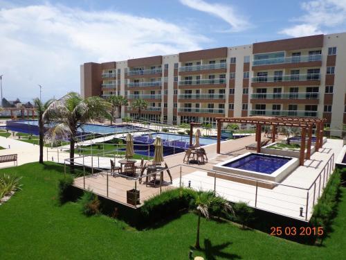 Uma vista da piscina em VG Fun Residence - Fortaleza Flats ou nos arredores