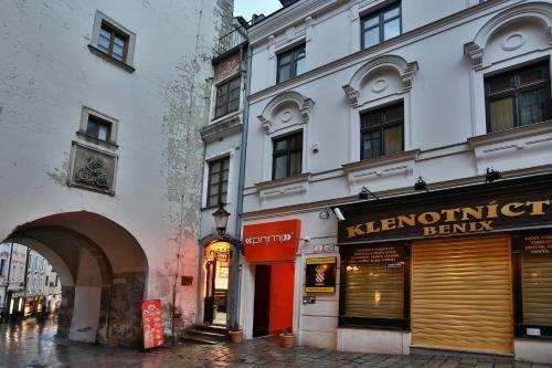 The facade or entrance of VIP Apartments
