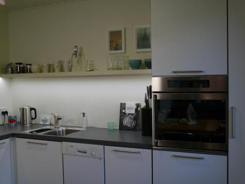 Køkken eller tekøkken på Holiday Home Fredensvang