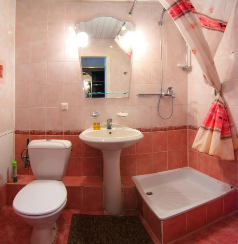 A bathroom at Zvenigorodsky Resort