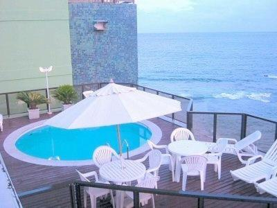 The swimming pool at or close to Píer Sul Apart Hotel - Circuito do carnaval
