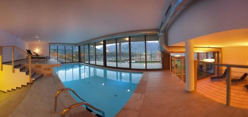 Bazén v ubytování Residence Aqualis nebo v jeho okolí