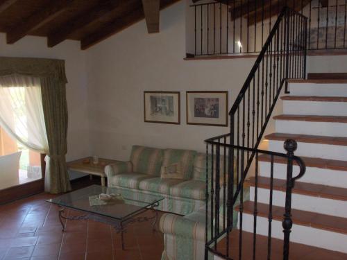 A seating area at Villa Sira