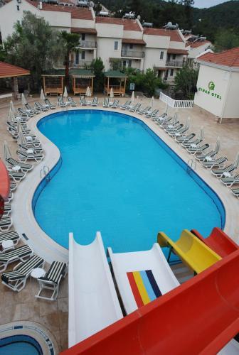 Vista sulla piscina di Telmessos Select Hotel - Adult Only (+16) - All Inclusive o su una piscina nei dintorni