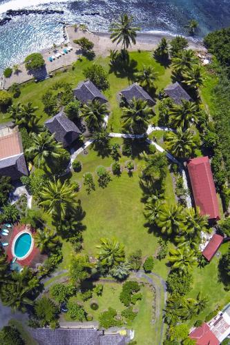 Una vista aérea de Punatea Village