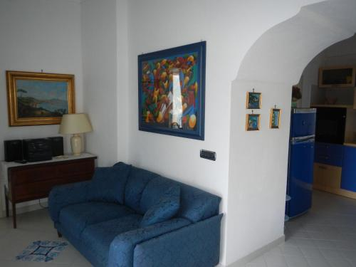 A seating area at Casa Bouganville