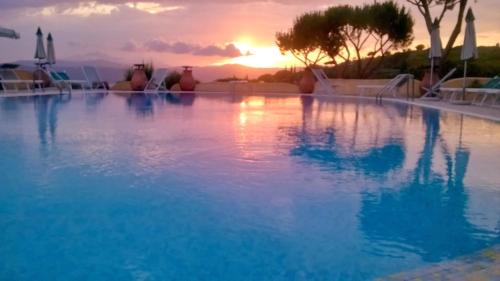 The swimming pool at or near Residence Le Grazie Est