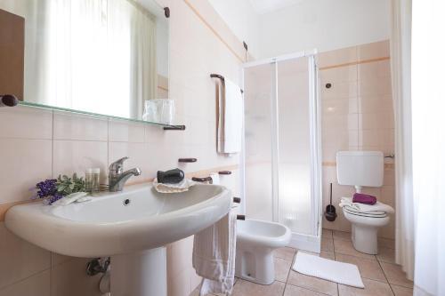 Ein Badezimmer in der Unterkunft Residence XX Settembre