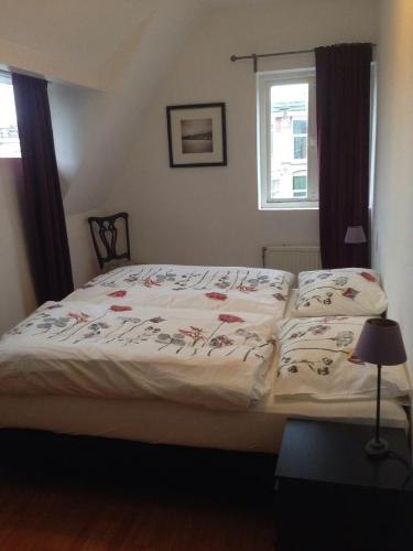 Een bed of bedden in een kamer bij Casa Bruti