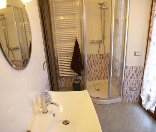 Bagno di Apartment La Gatta Viola