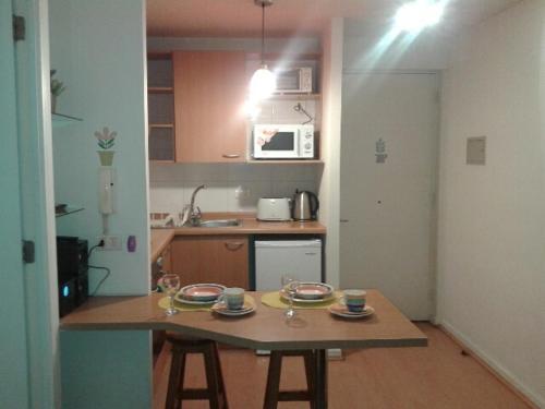 Una cocina o zona de cocina en Apartment Relocation San Isidro