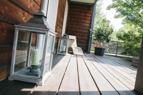 Balcone o terrazza di Natural Home Apartment