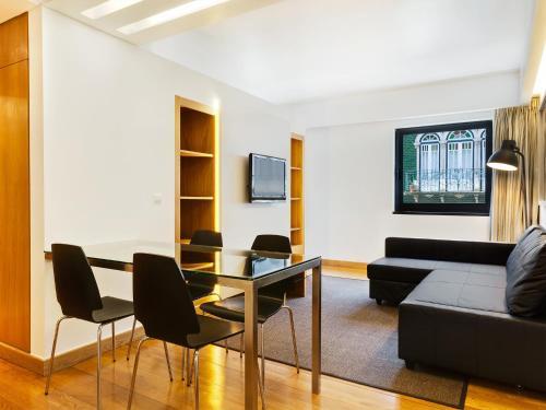 Zona d'estar a Hello Lisbon Marques de Pombal Apartments
