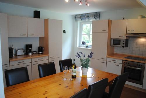 Kuchyň nebo kuchyňský kout v ubytování Haus Granitzhof