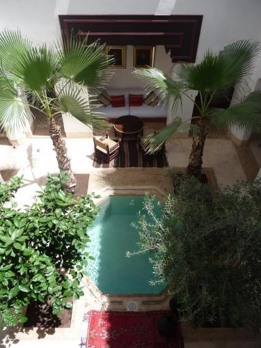 Vista de la piscina de Riad Matham o alrededores
