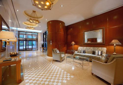 A seating area at Grand Hyatt Residence