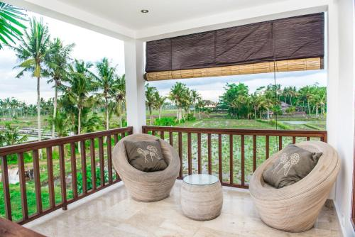A balcony or terrace at Julia Villa