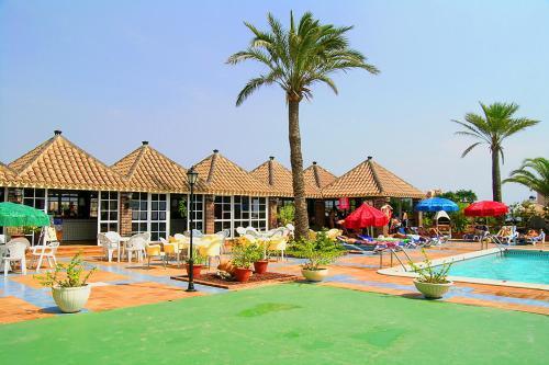 The swimming pool at or near Ona Marina Arpón