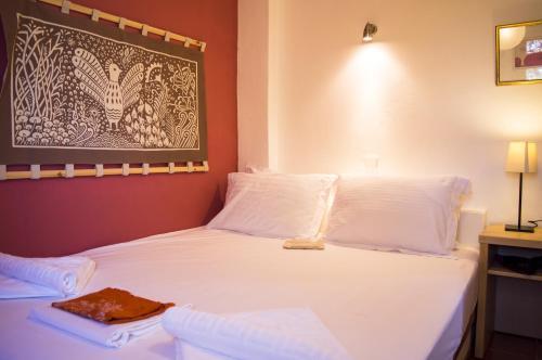 Ένα ή περισσότερα κρεβάτια σε δωμάτιο στο Περνάκρια