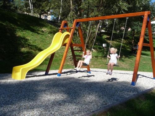 Herní místnost nebo prostor pro děti v ubytování Ernesta Club Lipno