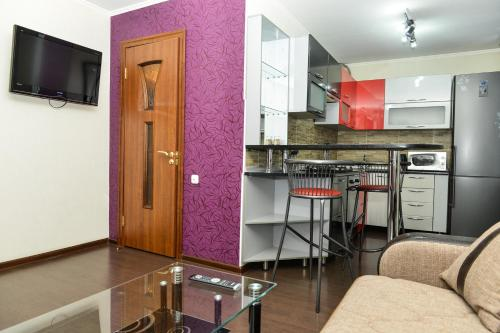 Кухня или мини-кухня в Richhouse on Tolepova 7