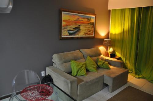 A seating area at Nannai Residence Apartament