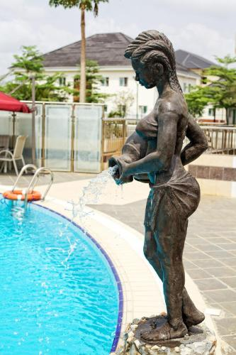 The swimming pool at or close to Oxygen Holiday Resort