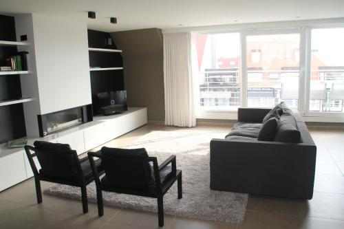 A seating area at Pagnaert Apartment