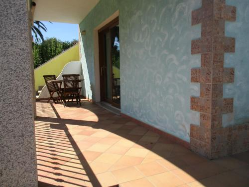 A porch or other outdoor area at Appartamento dei Sargassi