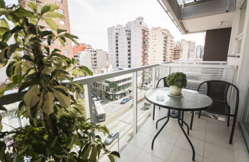 A balcony or terrace at Avda Santa Fe