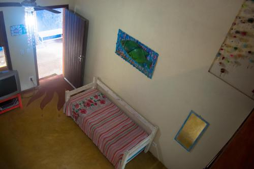 A bed or beds in a room at Santa Sereia