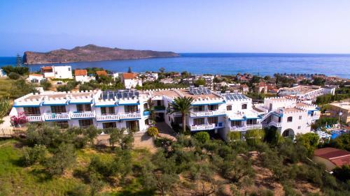 A bird's-eye view of Folia Apartments