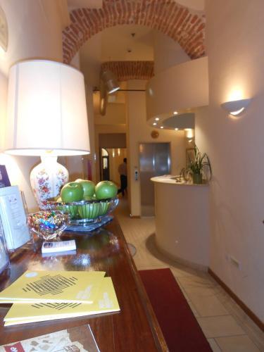 Cucina o angolo cottura di Hotel Atlantic